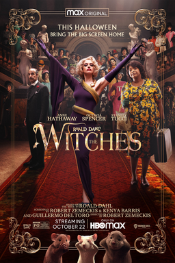 Roald Dahl's The Witches - This Halloween Bring The Screen Home - Anne Hathaway, Octavia Spencer, Stanley Tucci on red carpet