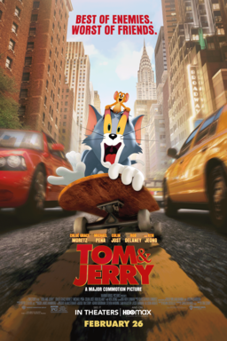 Tom & Jerry - A Major Commotion Picture - Best of Enemies. Worst of Friends. Tom & Jerry on a skate