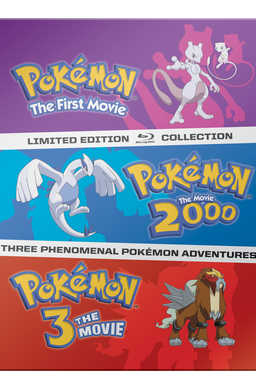 Pokemon the movie collection poster