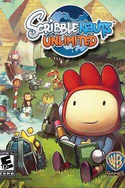 Scribblenauts Unlimited keyart