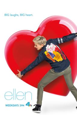 Ellen Degeneres Show Keyart