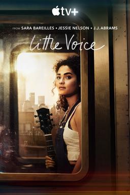 Little Voice: Season 1 - Sara Bareilles, Jessie Nelson., J.J. Abrams, Girl holding guitar on train