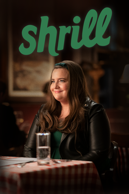 Shrill: Season 3 - Aidy Bryant as Annie wearing a green head band with green shirt and black leather
