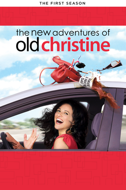 Julia Louis as Dreyfus Christine Campbell hair blowing in the car window down