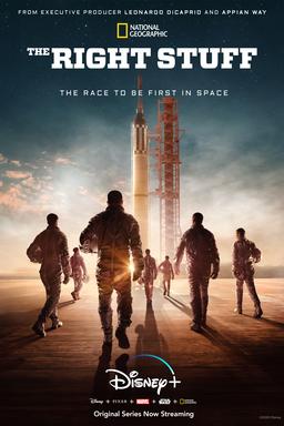 The Right Stuff: Season 1 - Men walking towards rocket in the sunset
