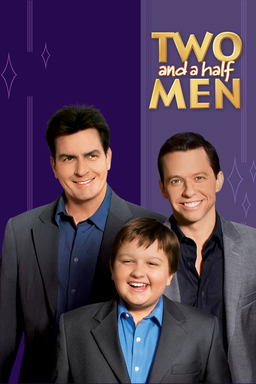 Two And A Half Men: Season 4 - Key Art