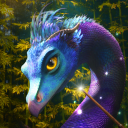 a purple dragon from Fantastic Beasts and Where to Find Them