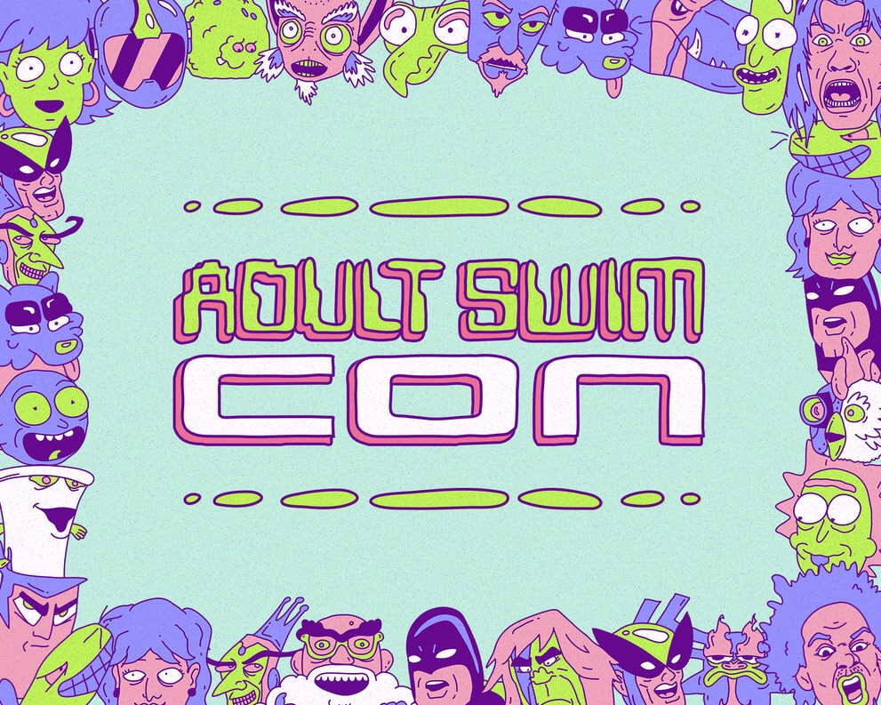 Adult Swim Con 2020 - Promo Logo