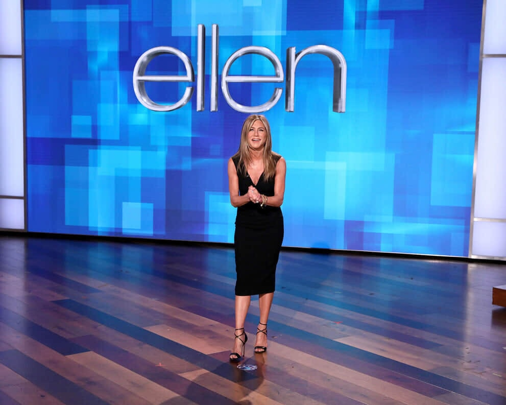 Jennifer Aniston on Ellen
