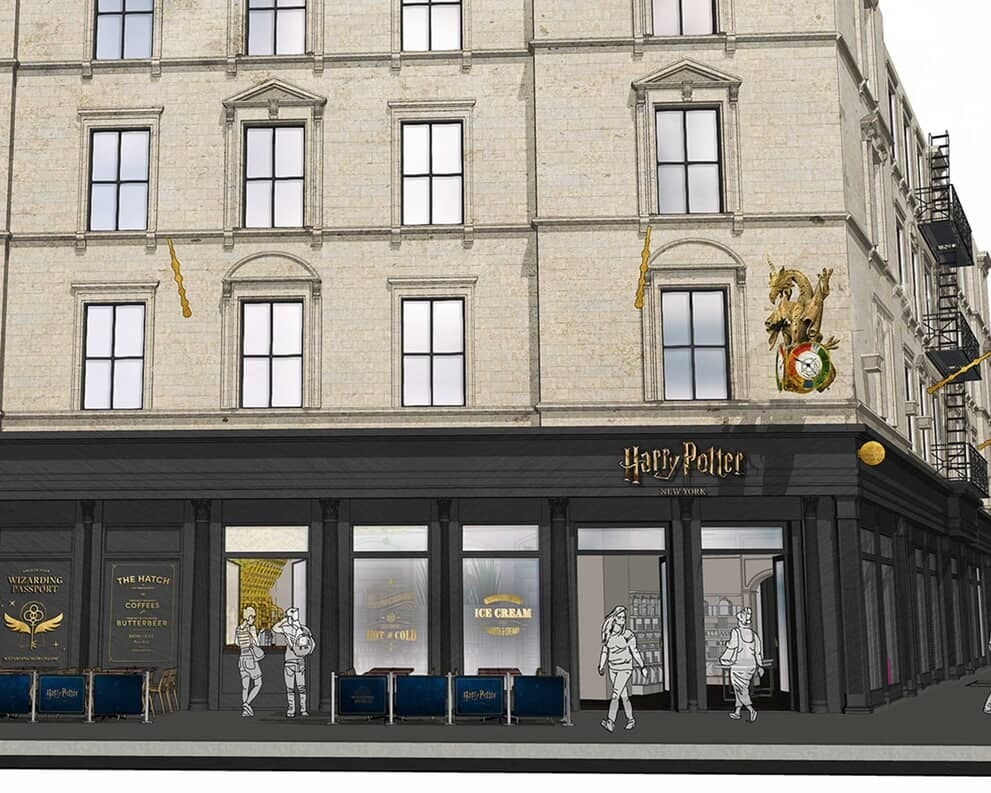 Wizarding World New York Flagship Store Concept
