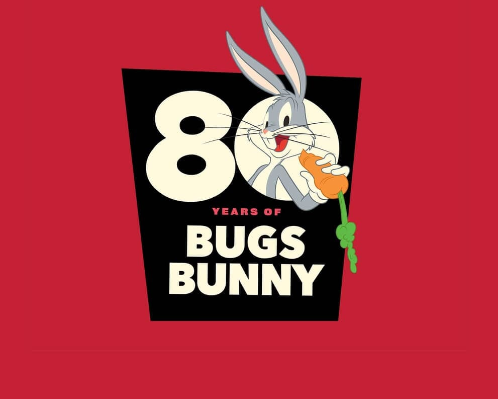 Bugs Bunny 80th Anniversary Logo - Promo
