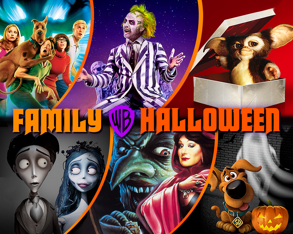 Halloween Movies and Activities for the Family - Beetlejuice, Scooby-Doo, Gremlins, Corpse Bride, The Witches